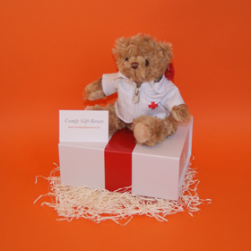 Get well soon teddy bear gift ideas UK delivery, get well gifts for children in hospital, hospital get well doctor gifts