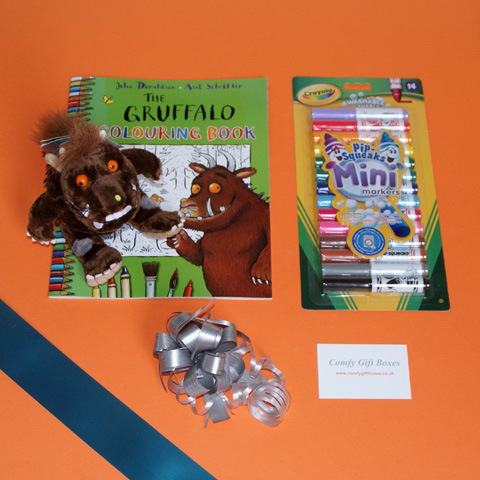 Gruffalo themed get well soon gifts for children, Gruffalo toy gift ideas UK delivery