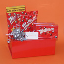 Champagne Maltesers gifts UK, Maltesers and champagne gift boxes, pamper gifts for women, Moet champagne and chocolates gifts UK