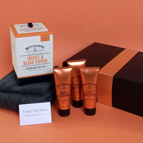 Pamper gifts for men, grooming gift ides for men UK, pamper gifts for him online, gifts for boys UK delivery, male grooming gifts UK, grooming gift set for him