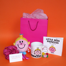 Get well soon gifts for young girls, fun get well gifts, get well gifts for teenagers, Little Miss Princess gifts UK delivery
